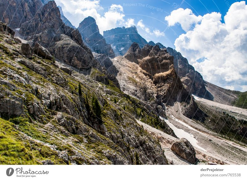 Felsenmeer Natur Ferien & Urlaub & Reisen blau grün Pflanze Sommer Baum Landschaft Wolken Ferne Umwelt Berge u. Gebirge Gefühle Freiheit Tourismus