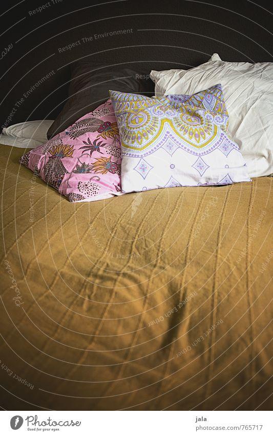 nachtlager Häusliches Leben Wohnung Innenarchitektur Dekoration & Verzierung Bett Schlafzimmer Kissen schlafen Sex ästhetisch schön feminin Geborgenheit