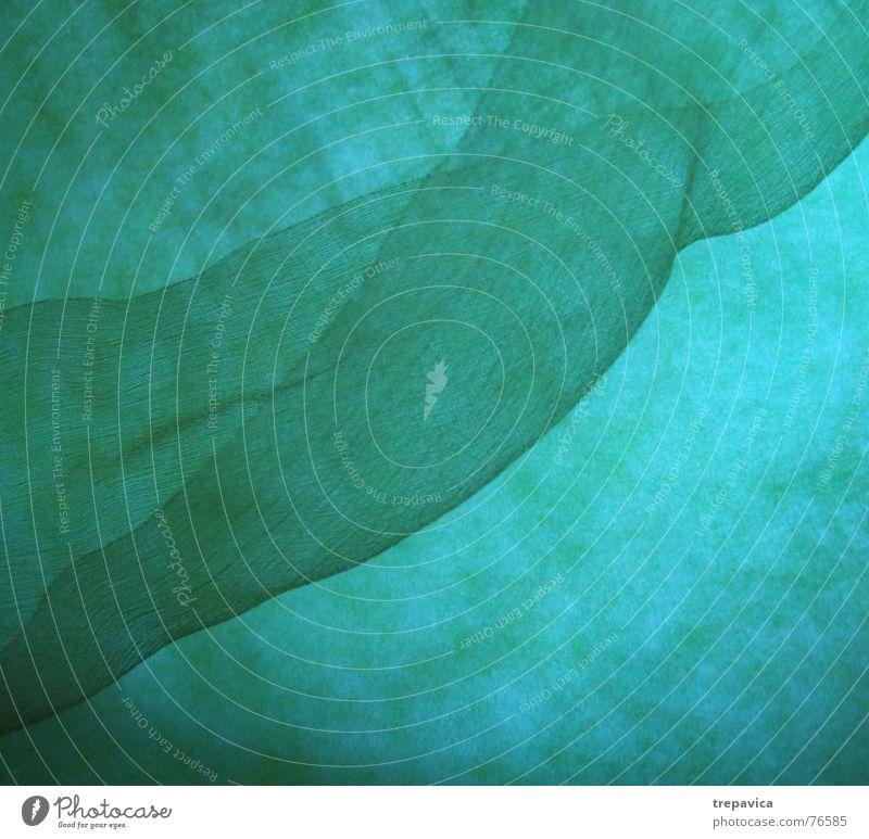 gruen Farbe feminin Wärme Hintergrundbild fliegen Physik geheimnisvoll Rauch Schnur leicht durchsichtig diagonal Tuch Zärtlichkeiten Seide Stoff