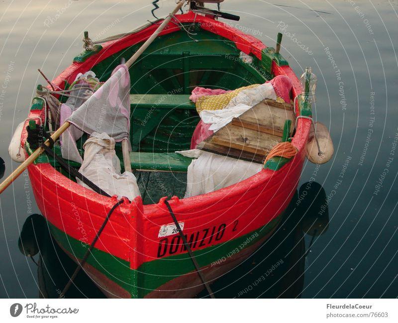 das wartende schiff Meer Wasserfahrzeug Einsamkeit Romantik Angeln Hafen Abend