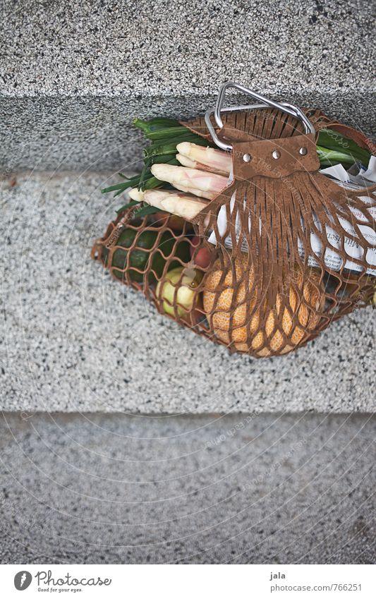 markttag Lebensmittel Gemüse Frucht Spargel Ernährung Bioprodukte Vegetarische Ernährung kaufen Gesundheit Gesunde Ernährung Treppe Tasche frisch lecker