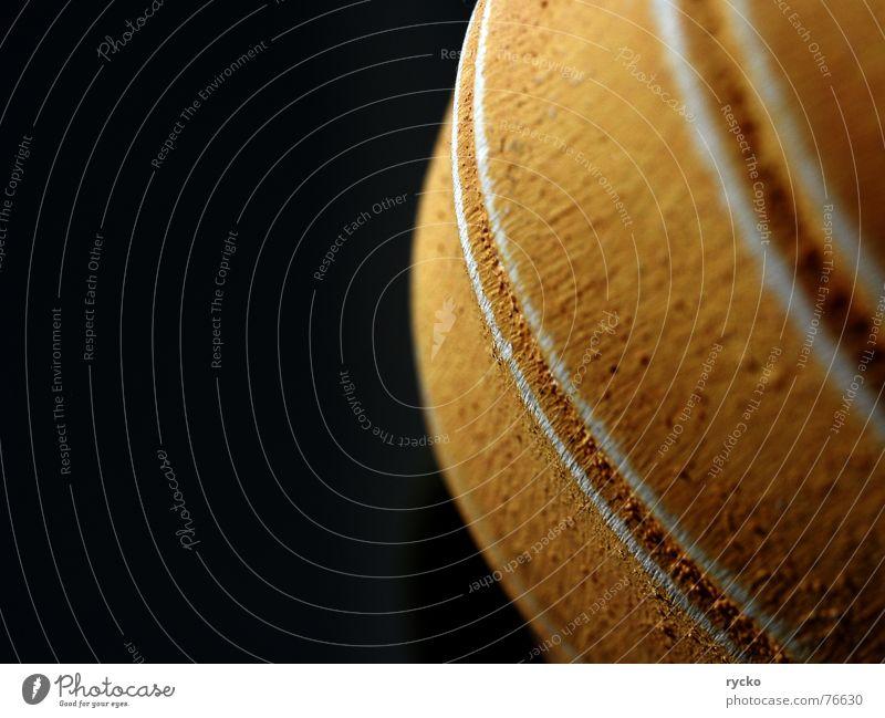 umlaufbahn Topf Streifen Verlauf Umlaufbahn Punkt Kontrast orange Kürbis Strukturen & Formen Schmerz