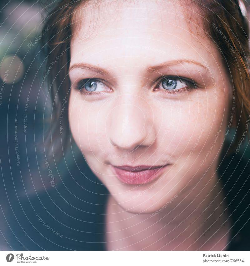 sweet about me Mensch Frau Jugendliche schön Junge Frau Erholung ruhig 18-30 Jahre Erwachsene Gesicht Auge feminin Stil Gesundheit außergewöhnlich Kopf