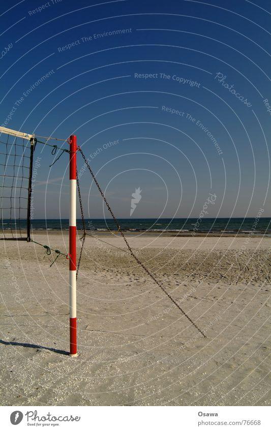 Echo des Sommers 1 Wasser Himmel Meer blau rot Sommer Strand Ferien & Urlaub & Reisen Sport See Sand Küste Ausflug Platz mehrere Freizeit & Hobby
