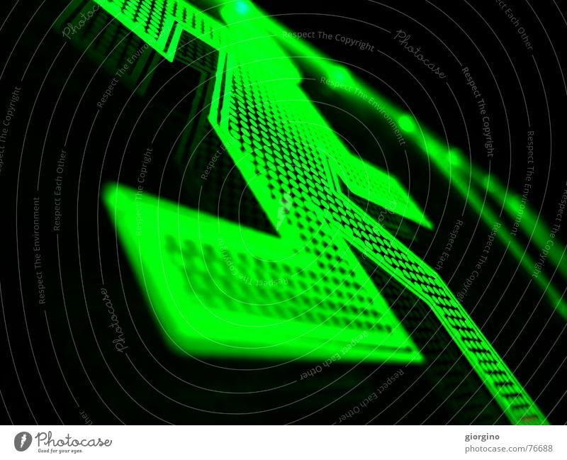 run green, run Hintergrundbild Leuchtdiode