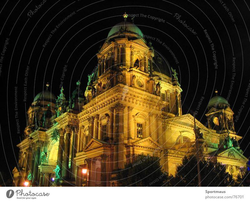 Wunderbares Berlin Stadt Gebäude Beleuchtung Deutscher Dom
