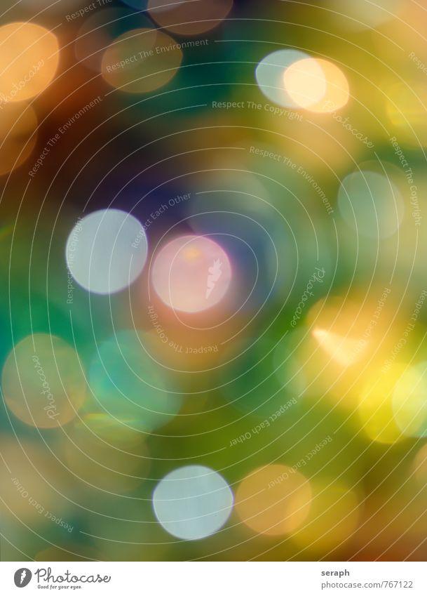 Spots Lichtpunkt Leuchtpunkt abstrakt Ordnung Stimmung Lichtstimmung hell Unschärfe Dekoration & Verzierung Kugel twinkling Hintergrundbild schön Kreis