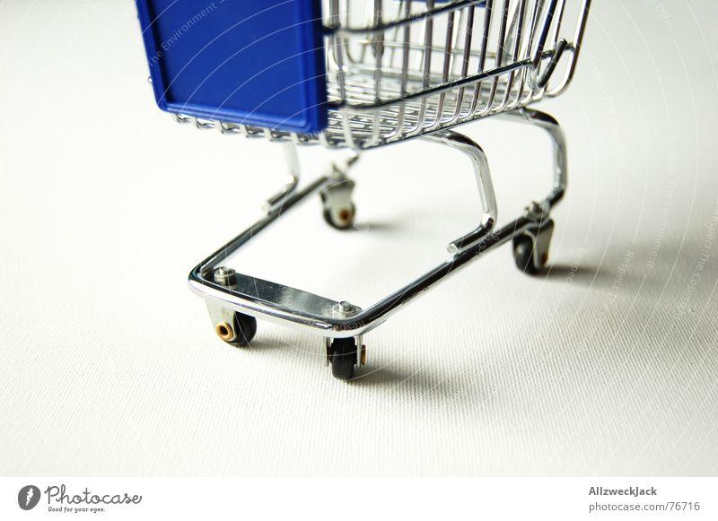 Einkaufstransportfahrzeug (1) Metall Ladengeschäft Eisen Korb Supermarkt Einkaufswagen Konsum Wagen