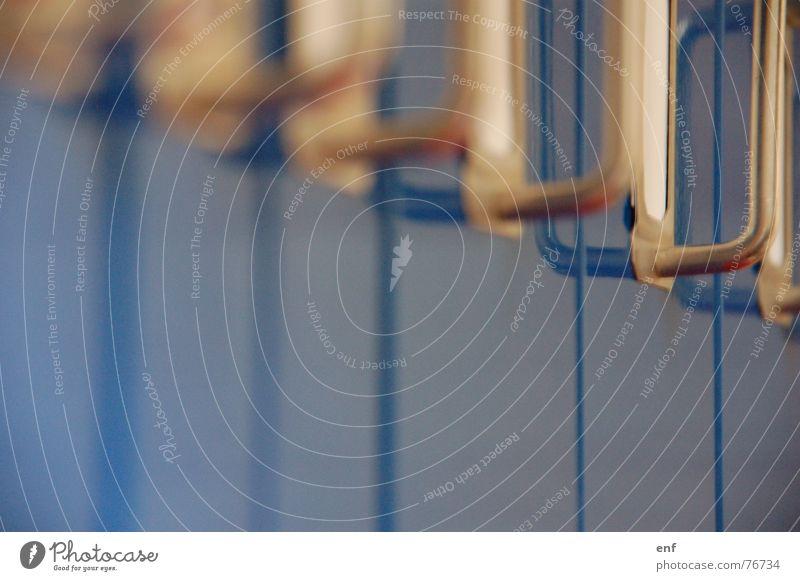 einheits-blau blau Arbeit & Erwerbstätigkeit Chrom Ablage einheitlich Beschriftung Unterlage