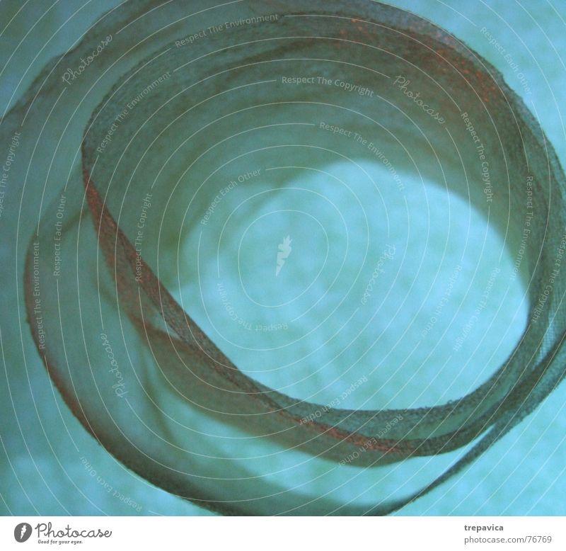 gruen III Farbe Hintergrundbild Schnur durchsichtig Rolle Seide