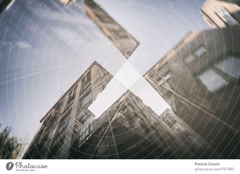 Schnittmenge Stadt Hochhaus Bauwerk Gebäude Architektur Senior Beginn Zufriedenheit bizarr Business entdecken Kapitalwirtschaft Fortschritt