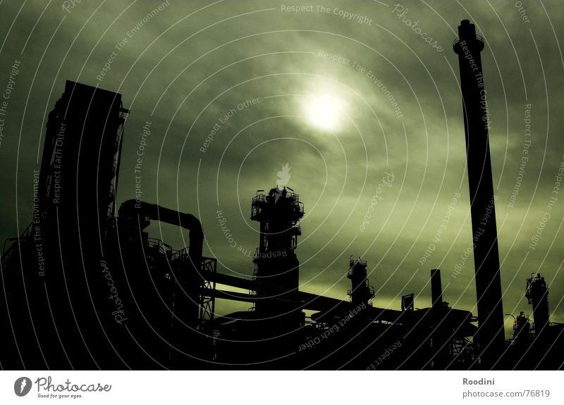 2056 Sonne dunkel Wärme Angst Klima Energiewirtschaft Verkehr Zukunft Elektrizität Krieg Zukunftsangst Erdöl Schornstein Klimawandel Pipeline Benzin