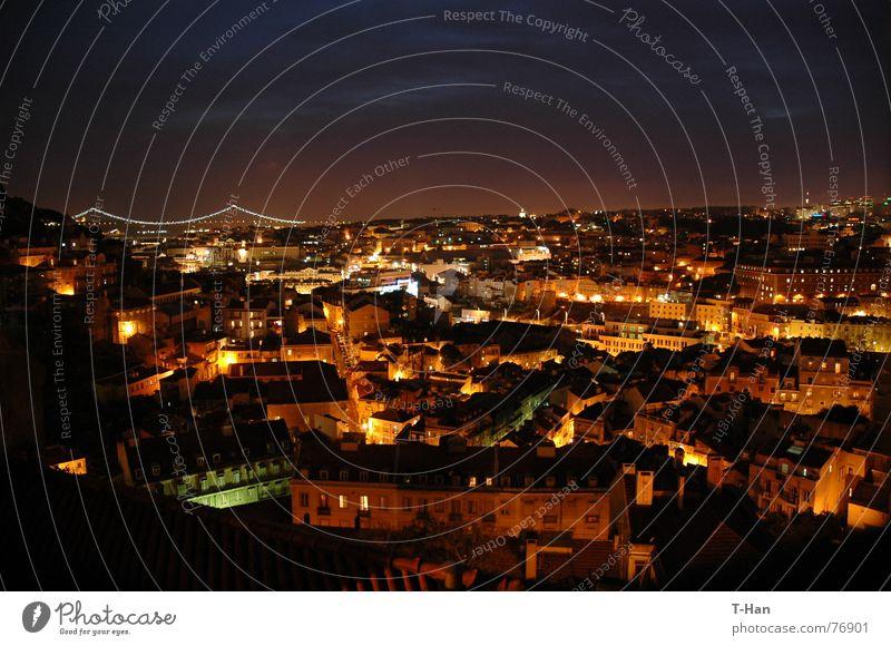 Lisbon, Portugal Stadt Skyline Portugal Lissabon