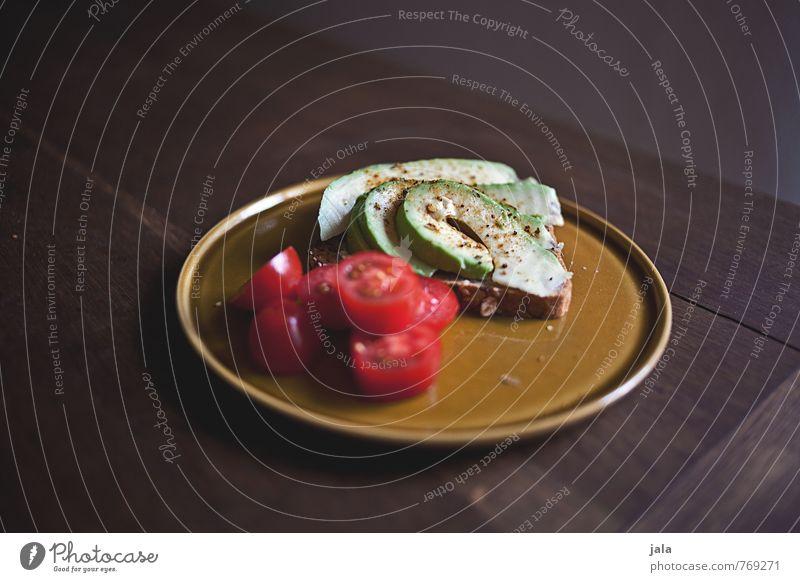 avocadobrot Gesunde Ernährung natürlich Gesundheit Lebensmittel Tisch Gemüse lecker Appetit & Hunger Bioprodukte Geschirr Brot Teller Abendessen Mittagessen