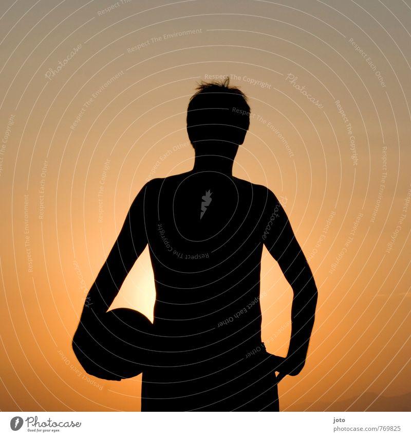 sportsfreund Lifestyle Freizeit & Hobby Spielen Ferien & Urlaub & Reisen Sommer Sommerurlaub Sonne Sport Volleyball Junger Mann Jugendliche frei sportlich