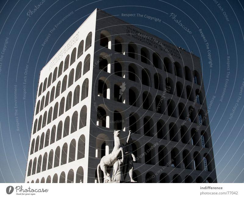 Palazzo della Civiltà Italiana *five* Italien Denkmal Euro Rom