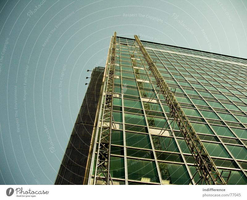 Eur Serie detail *two* Italien Hochhaus building palace Euro architecture Skyline steel windows
