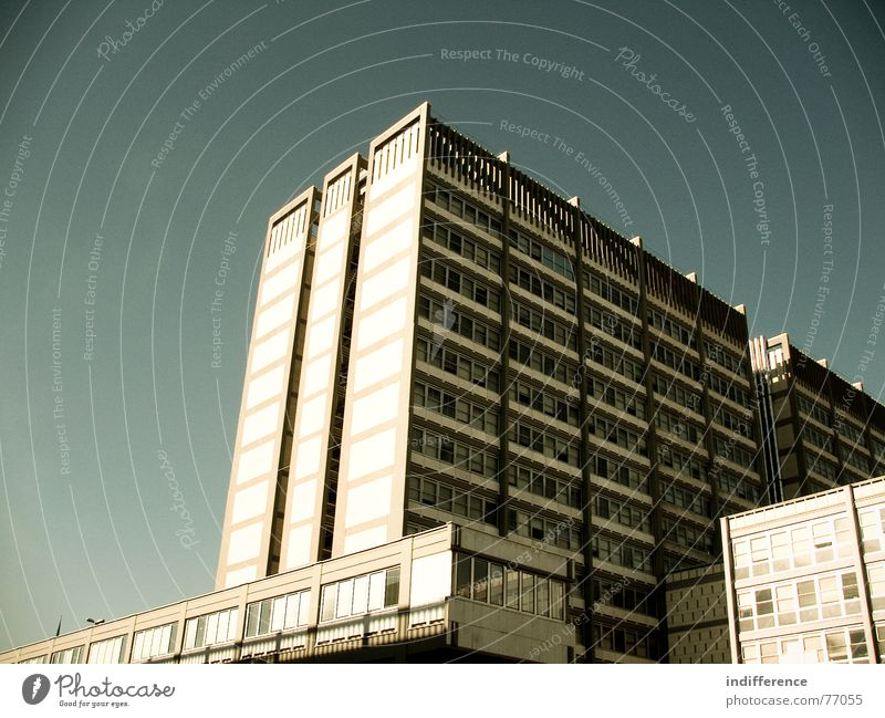 who are you? Hochhaus Himmel Italien building palace Skyline windows sky Euro