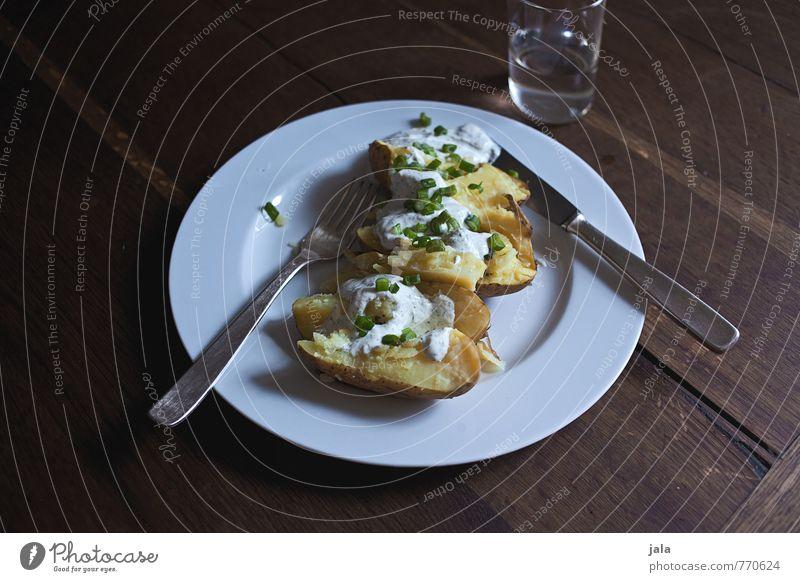 pellkartoffeln Lebensmittel Gemüse Kartoffeln Pellkartoffel Quark Kräuter & Gewürze Ernährung Mittagessen Bioprodukte Vegetarische Ernährung Getränk Trinkwasser