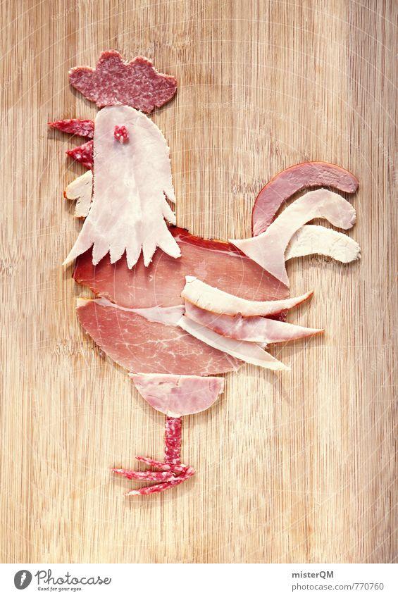 Wurstfreund. Gustav Gockel. Kunst ästhetisch Zufriedenheit Wurstwaren Wurstherstellung Fleisch Fleischgerichte Fleischfresser Fleischesser Fleischskandal