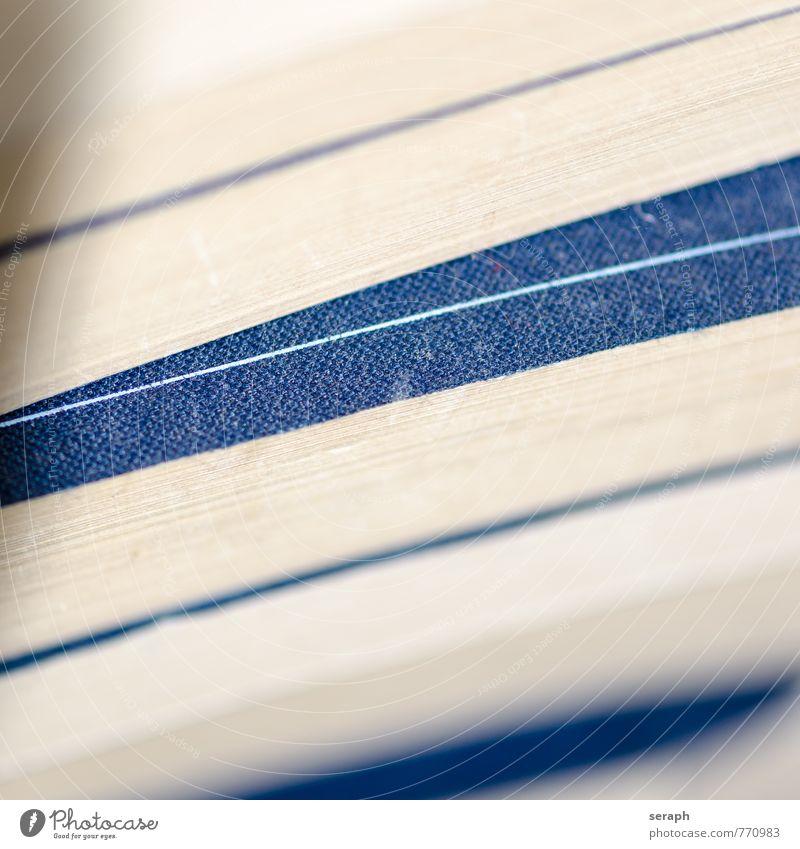 Bücherstapel Blatt Linie Schule Schriftzeichen Buch Kommunizieren lernen Papier lesen Bildung Medien Information Schriftstück Karton Stapel Wissen