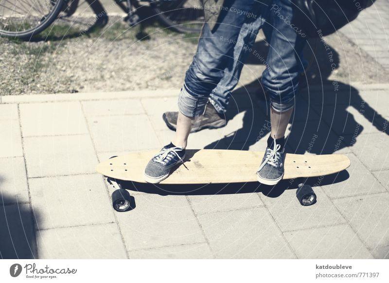 très bonne journée Bewegung Sport Spielen Stil Beine Fuß Stimmung Freizeit & Hobby Angst Lifestyle Schuhe gefährlich Beginn Fitness Spaziergang fahren