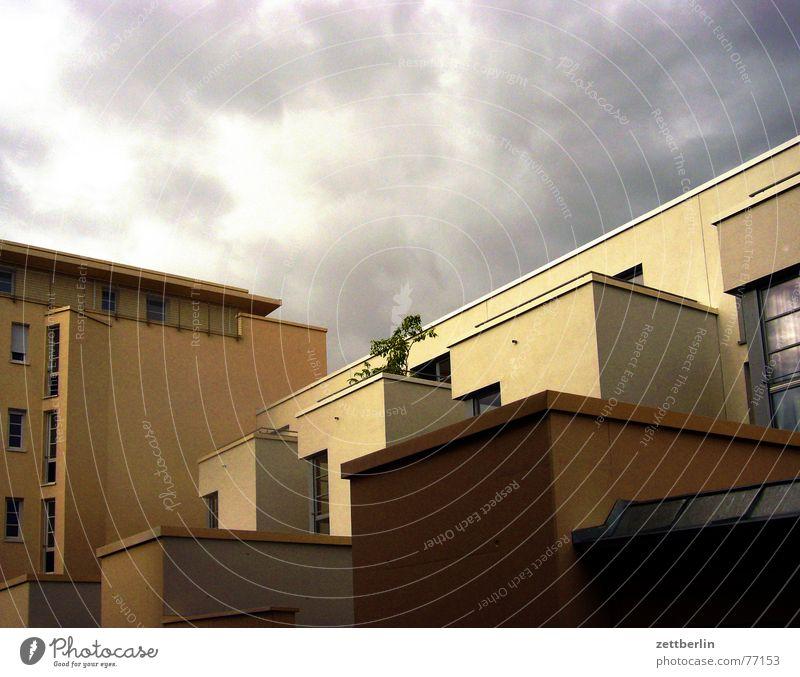 Townhouse Stadthaus Villa einzigartig Beton Einzelsilo Wolken Unwetter November Gummibaum Kittel Kreuzberg Victoriapark schöner wohnen indivuduell