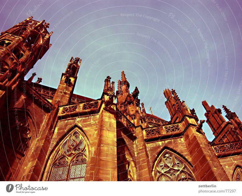 Freiburger Münster Freude Architektur laufen mehrere Tourismus Turm viele Basel Frieden Bogen Franken Renovieren Marktplatz Ferien & Urlaub & Reisen Gotik