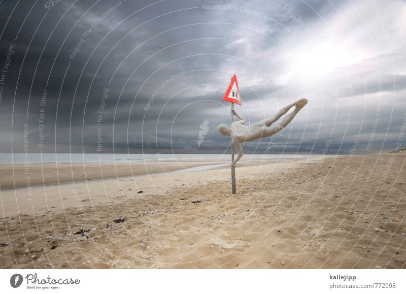 baywatch Mensch Natur Mann Hand Strand Erwachsene Umwelt Leben Küste Schwimmen & Baden springen Horizont maskulin Körper Schilder & Markierungen Luftverkehr