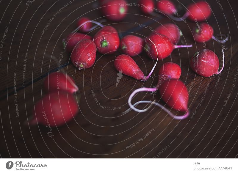 radiesle Gesunde Ernährung natürlich Gesundheit Lebensmittel frisch Gemüse lecker Appetit & Hunger Bioprodukte Vegetarische Ernährung Holztisch Radieschen