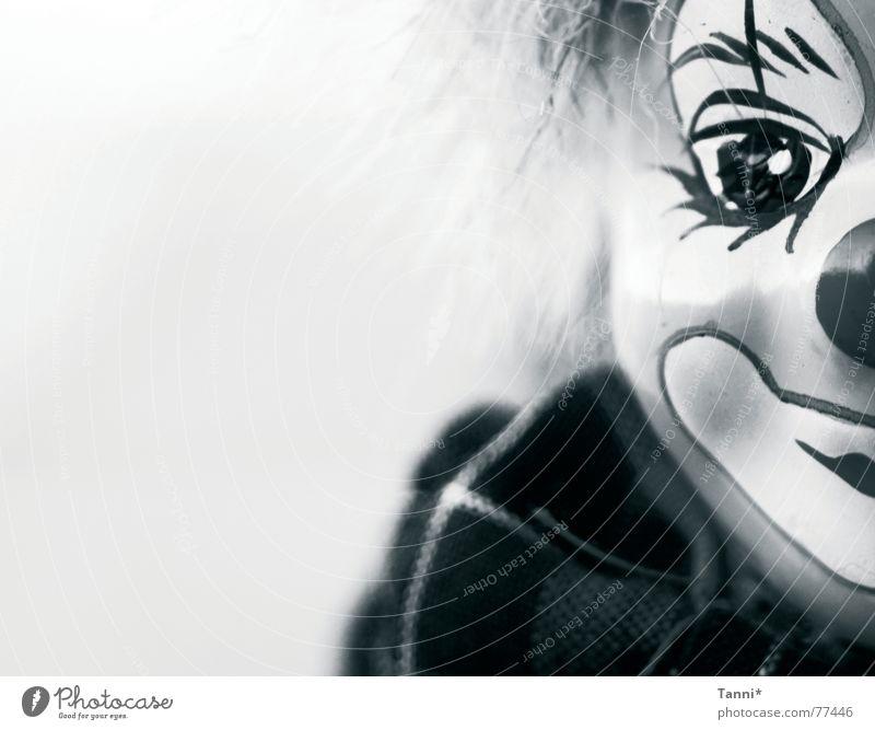 clown Gesicht Auge lachen Neugier Puppe Clown Beruf
