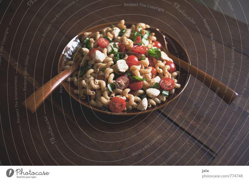 nudelsalat Gesunde Ernährung natürlich Lebensmittel frisch Gemüse lecker Appetit & Hunger Bioprodukte Schalen & Schüsseln Backwaren Abendessen Mittagessen
