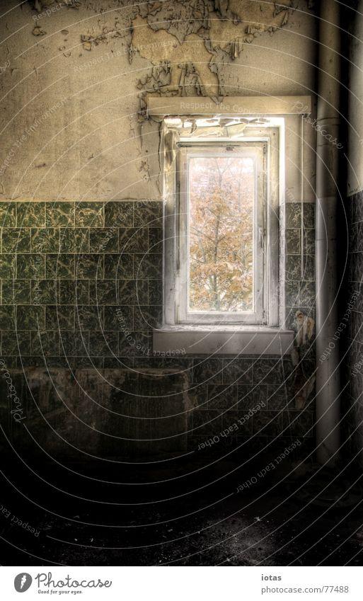 abandoned schön alt ruhig Einsamkeit Farbe Wand Stil Traurigkeit Gebäude Angst dreckig Architektur Deutschland Wohnung Armut