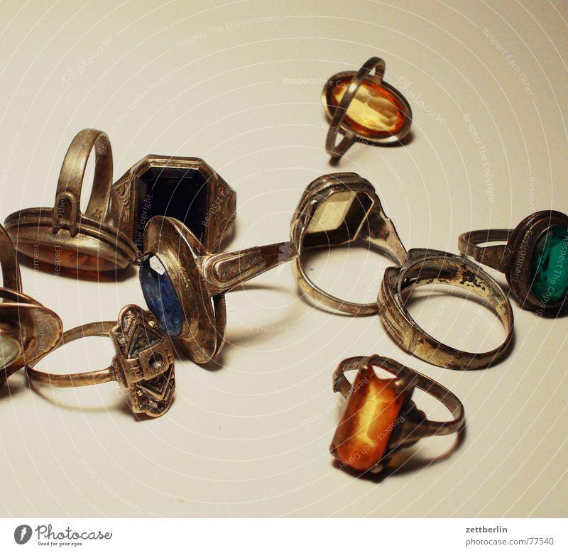 Ringe Schmuck Opal Lapislazuli Achat Bernstein Saphir Diamant Brillant Elster Erbe Kreis gold silber