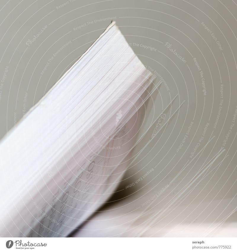 Buch Blatt Schule Studium lernen Papier lesen Bildung schreiben Medien Karton Wissen Zettel Buchseite Printmedien Druck