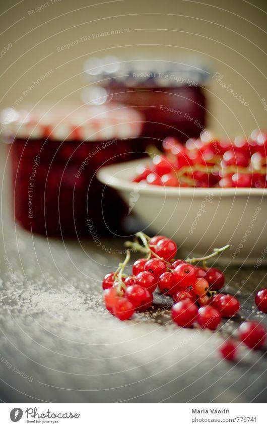 Mach mal Marmelade Maria Gesundheit Lebensmittel Frucht Ernährung süß Schalen & Schüsseln Zucker selbstgemacht Johannisbeeren Einmachglas Marmeladenglas