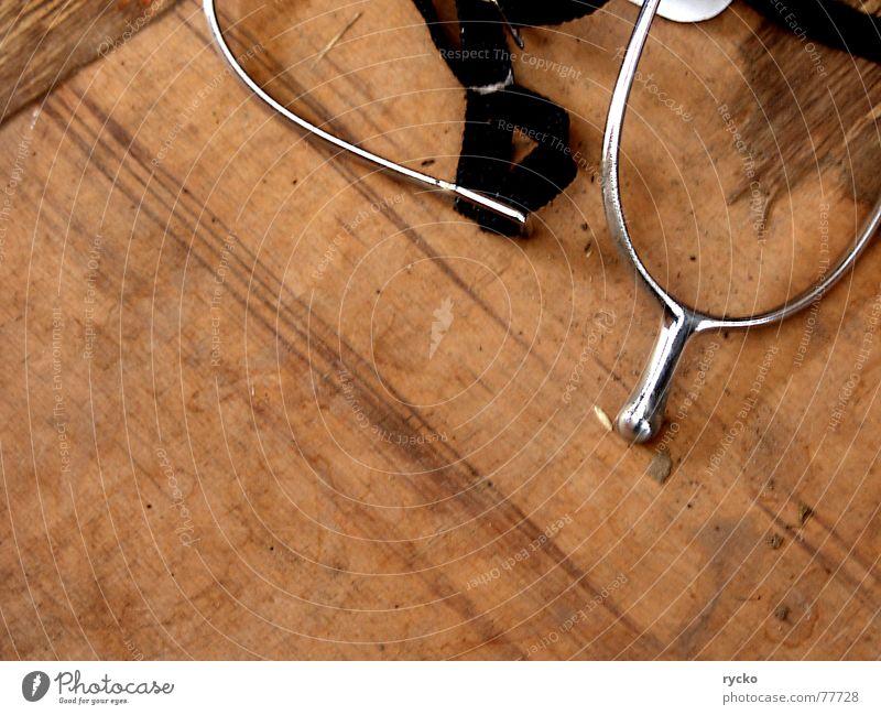 .... & weg war der Old Shatterhand Winnetou Pferd Sporen Holz glänzend Reitsport Metall Reiter mitarbeit überzeuger überzeugung antreiben Pferdegangart horse