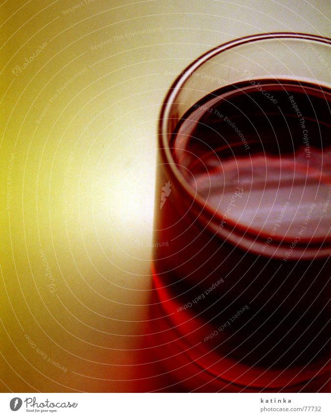tee Winter kalt Tasse Licht rot grün gelb Reflexion & Spiegelung Physik gemütlich Tee Glas Schatten Wärme Nahaufnahme