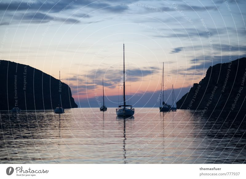 Hommage an C.D.F. Ferien & Urlaub & Reisen Ferne Sommer Strand Meer Insel Segeln Erde Luft Wasser Himmel Wolken Horizont Sonnenaufgang Sonnenuntergang