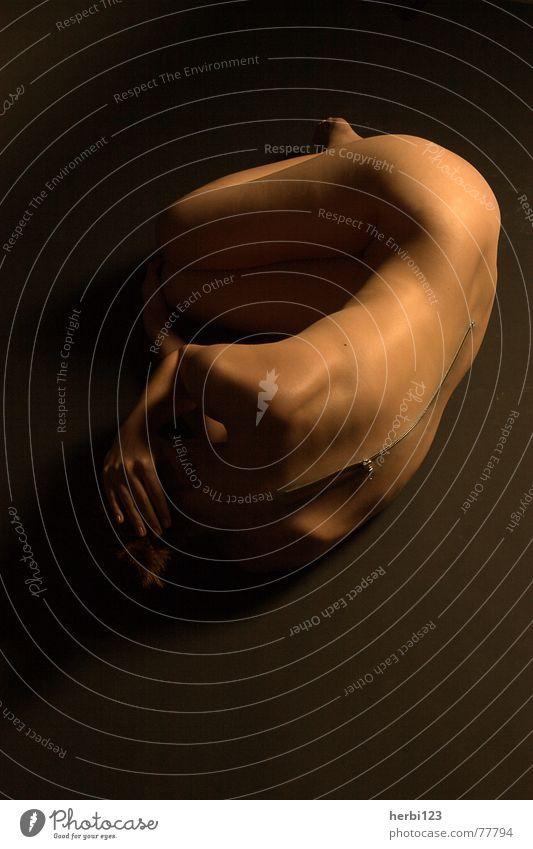 nackt ? Mensch nackt feminin Akt Angst Haut Bekleidung