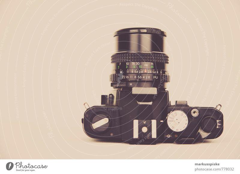 analog spiegelreflexkamera Lifestyle Reichtum elegant Stil Design Freizeit & Hobby Beruf Dienstleistungsgewerbe Medienbranche Werbebranche Fotokamera Objektiv