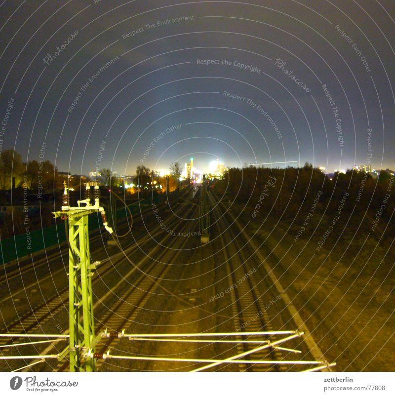 Potsdamer Platz Himmel Ferien & Urlaub & Reisen Sonne Baum Haus Beleuchtung Berlin Linie hoch Eisenbahn Baustelle Schnur Unendlichkeit Kabel Show fahren
