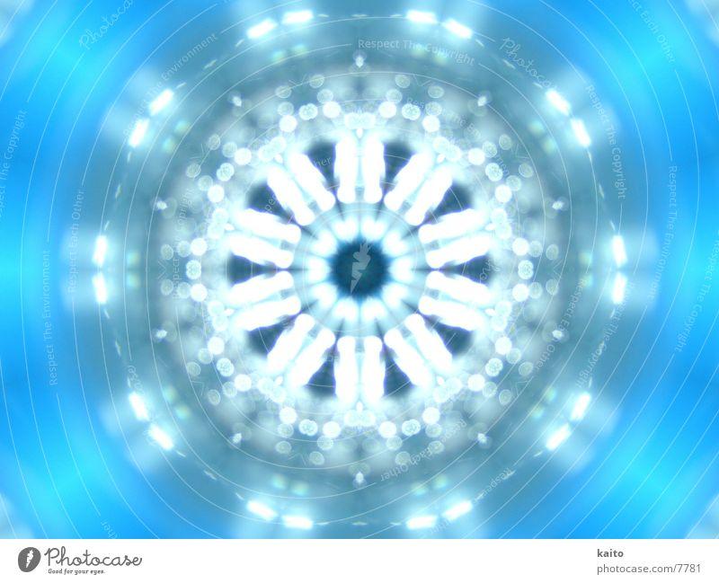 Kaleidoscope Wasser blau hell nass Tunnel Flasche tief Kaleidoskop