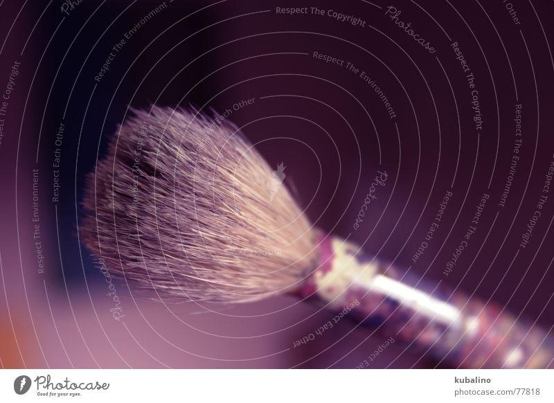 LILAPINSEL Farbe Stil Raum Kunst violett zeichnen Pinsel gemalt