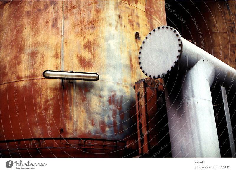 Völklinger Hütte Metall Industriefotografie Rost Rust Strukturwandel