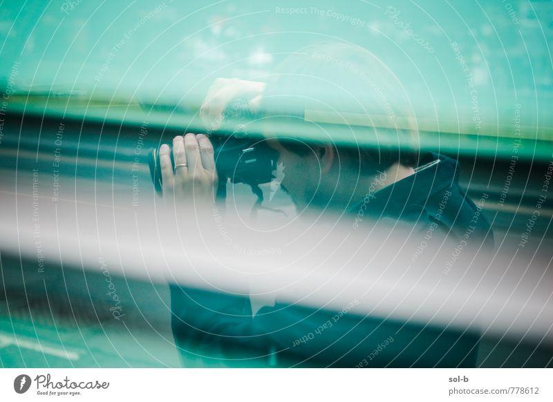 Mensch Ferien & Urlaub & Reisen Jugendliche Mann Stadt Junger Mann Fenster Erwachsene Straße Arbeit & Erwerbstätigkeit Freizeit & Hobby maskulin Lifestyle Glas Tourismus Technik & Technologie