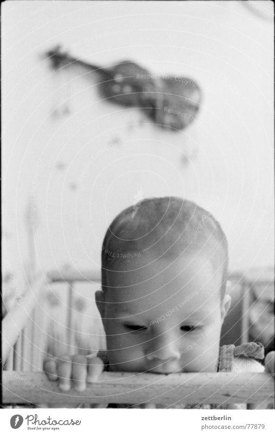 Kind Kleinkind Baby Geige Kinderzimmer Himmel