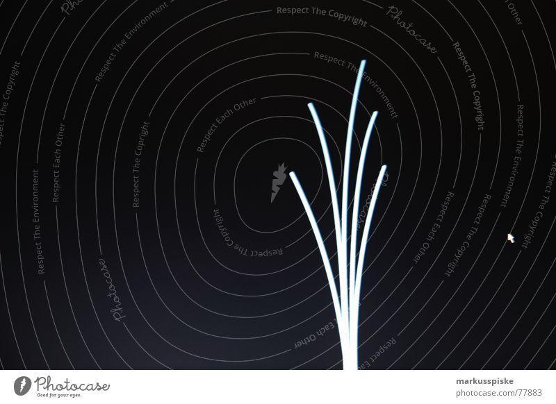 desktop Eingabe Bildschirm Dünnschichttransistor schwarz Neonlicht dunkel Design Linie Grafik u. Illustration hell