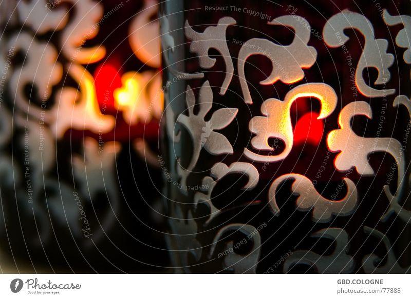 CandleLight Weihnachten & Advent rot Winter Wärme Stimmung Glas Brand Design Kerze Romantik Dekoration & Verzierung Physik gemütlich Kerzenschein Teelicht