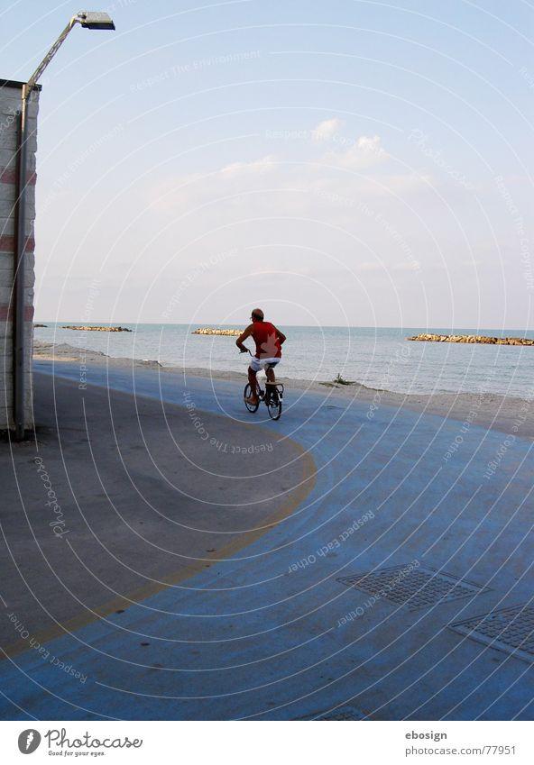 schneller Meer Straße Bewegung Wege & Pfade Verkehr Abschied
